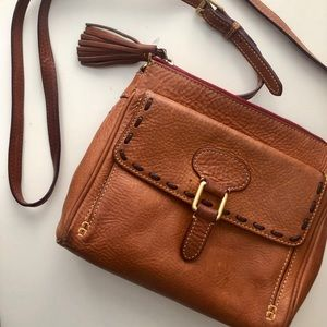 Dooney and Bourke Brown Crossbody Bag